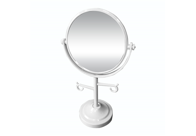 2X /1X MAGNIFICATION BEAUTY STANDING MIRROR