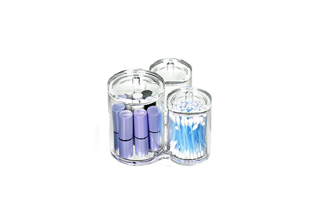 3 CUPS COSMETIC ORGANIZER