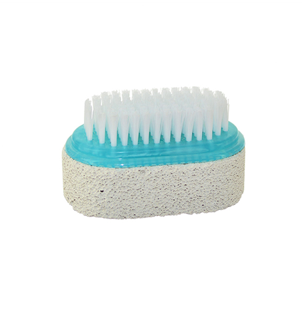 FOOT PUMICE STONE AND CLEANSING BRUSH