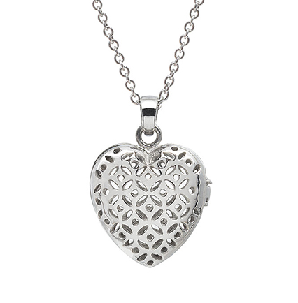FLO HEART PERFUME NECKLACE