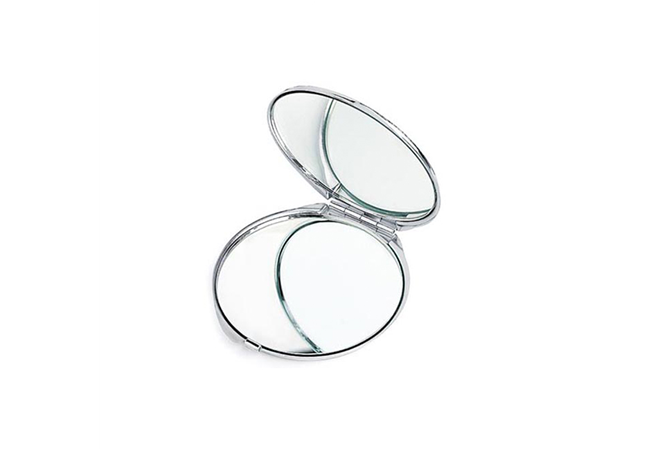 2X / 1X MAGNIFICATION POCKET MIRROR